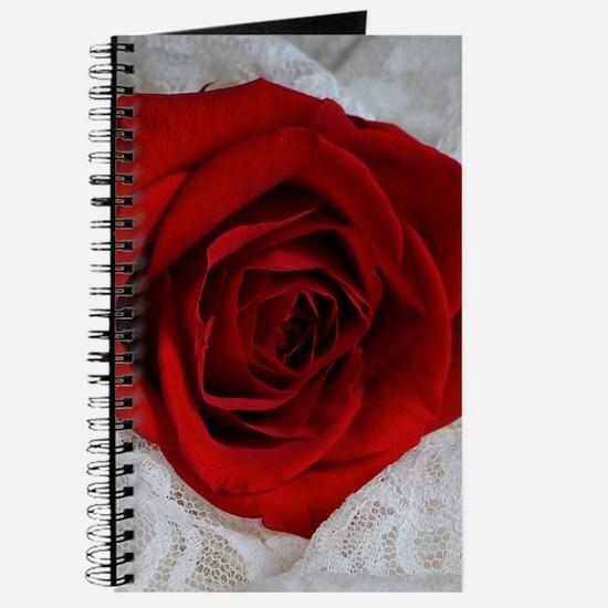 Wonderful Red Rose Journal