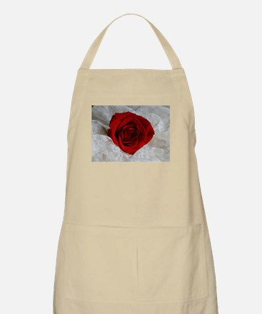 Wonderful Red Rose Apron