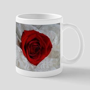 Wonderful Red Rose Mugs
