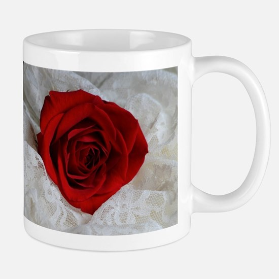 Wonderful Red Rose Mugs