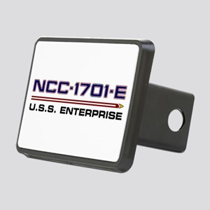 U.S.S. Enterprise-E Regist Rectangular Hitch Cover
