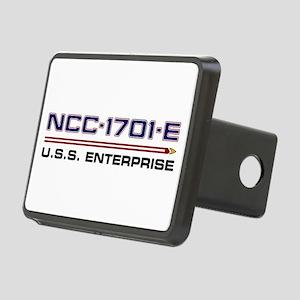 U.S.S. Enterprise-E Regist Rectangular Hitch Cover