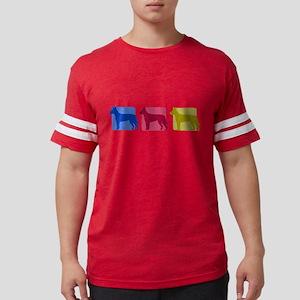 Color Row Carolina Dog T-Shirt