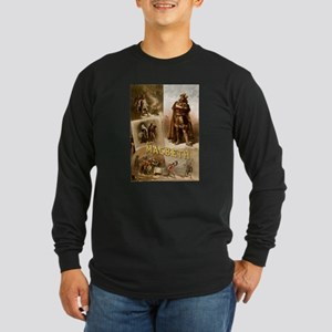 Vintage Macbeth Theatre Poster Long Sleeve T-Shirt