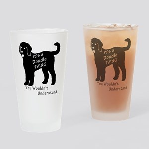 It's a Doodle Thing Drinking Glass