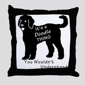 It's a Doodle Thing Throw Pillow