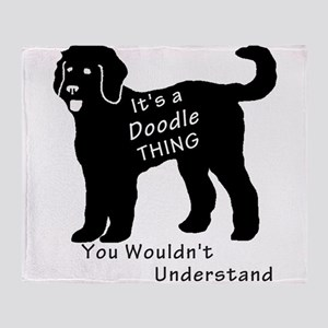 It's a Doodle Thing Throw Blanket