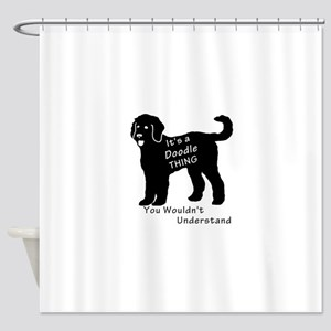 It's a Doodle Thing Shower Curtain