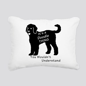 It's a Doodle Thing Rectangular Canvas Pillow