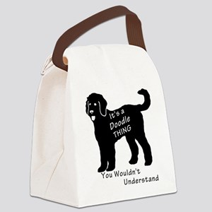 It's a Doodle Thing Canvas Lunch Bag