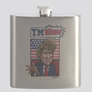 Donald Trump for President - I'm Hired Flask
