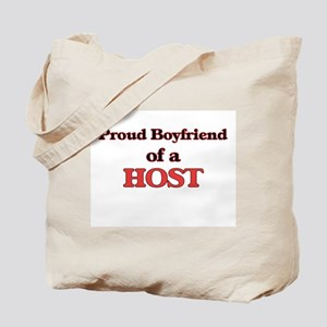 Proud Boyfriend of a Host Tote Bag