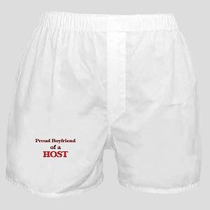 Proud Boyfriend of a Host Boxer Shorts