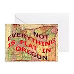 Flat Oregon Greeting Cards (Pk of 10)