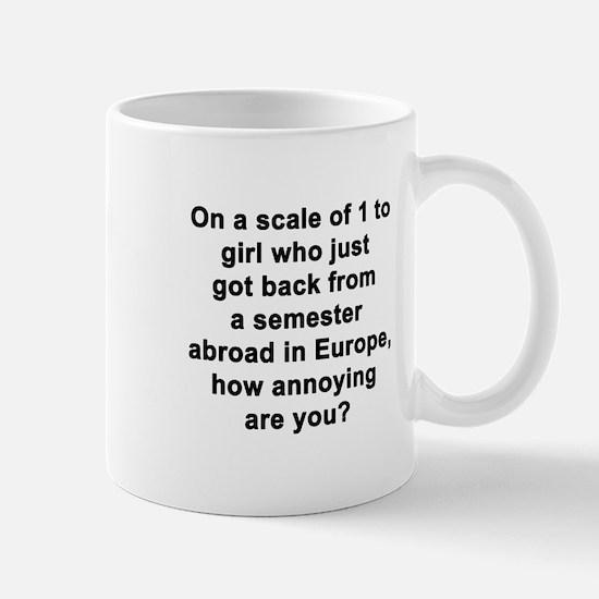 On a Scale Mug