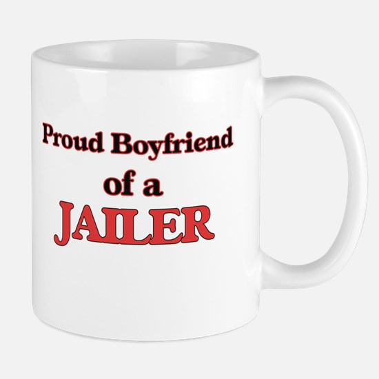 Proud Boyfriend of a Jailer Mugs