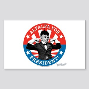 The Little Rascals: Alfalfa Fo Sticker (Rectangle)
