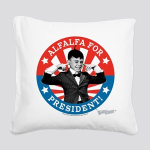 The Little Rascals: Alfalfa F Square Canvas Pillow