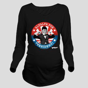 The Little Rascals: Long Sleeve Maternity T-Shirt