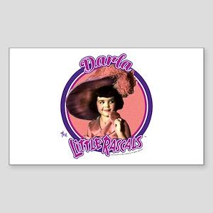 The Little Rascals: Darla Sticker (Rectangle)