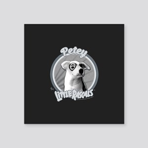 "The Little Rascals: Petey T Square Sticker 3"" x 3"""
