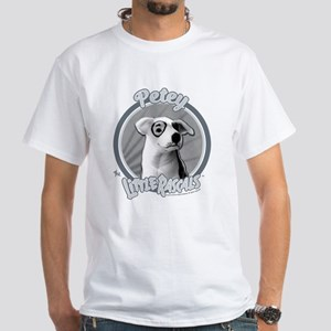The Little Rascals: Petey The Dog White T-Shirt