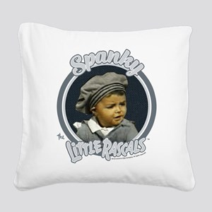 The Little Rascals: Spanky Square Canvas Pillow