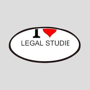 I Love Legal Studies Patch