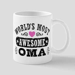 World's Most awesome Oma Mug