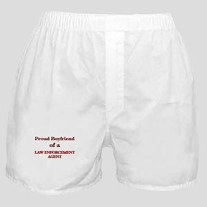 Proud Boyfriend of a Law Enforcement Boxer Shorts