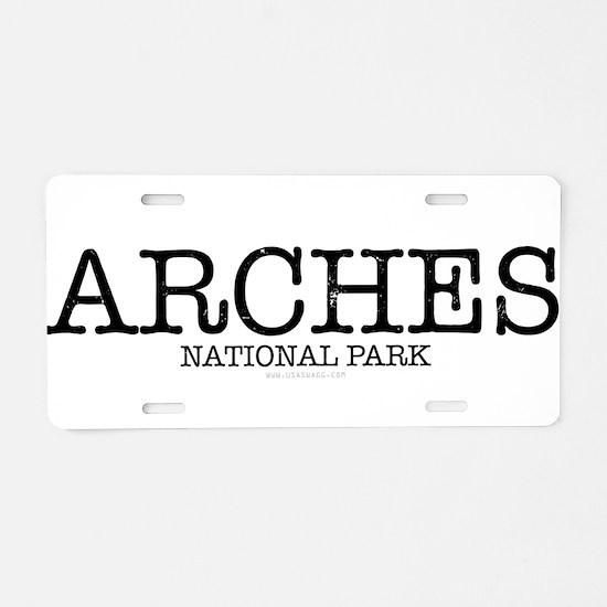 Arches Natioal Park ANP Aluminum License Plate