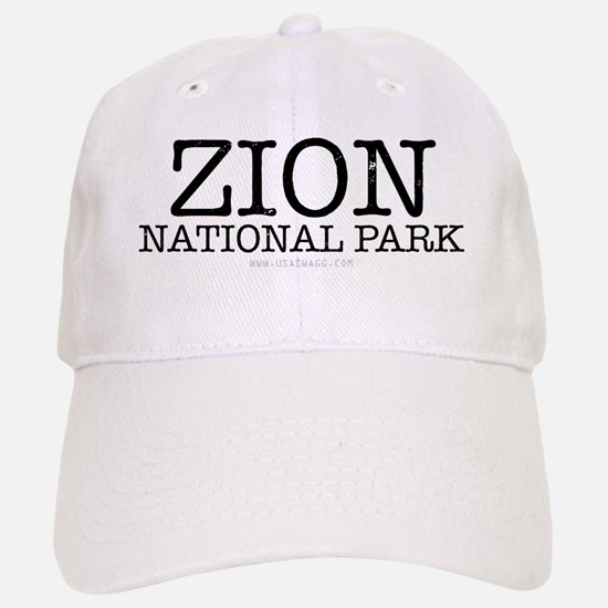 Zion National Park ZNP Baseball Baseball Cap
