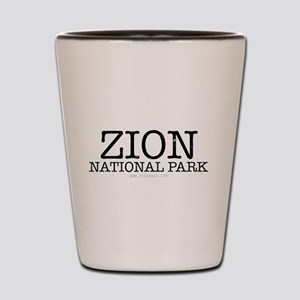 Zion National Park ZNP Shot Glass