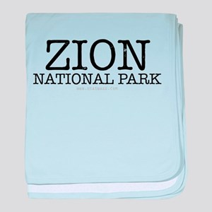 Zion National Park ZNP baby blanket