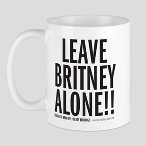 Leave Britney Alone Mug
