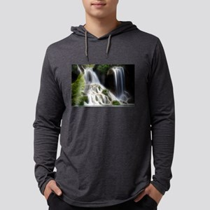Lightening Waterfall Long Sleeve T-Shirt