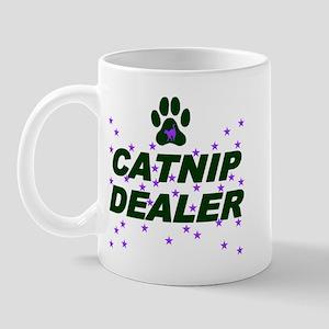CATNIP DEALER left-handed Mug