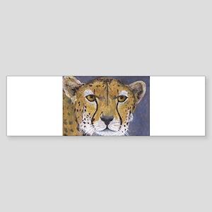 Fast Cat - Cheetah Bumper Sticker