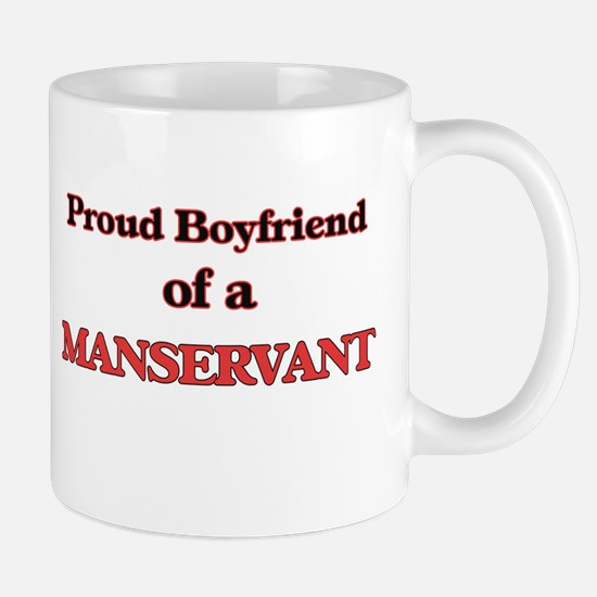 Proud Boyfriend of a Manservant Mugs