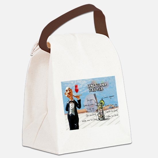 Cute Long island Canvas Lunch Bag