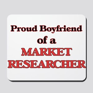 Proud Boyfriend of a Market Researcher Mousepad