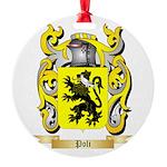 Poli Round Ornament