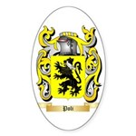 Poli Sticker (Oval 50 pk)