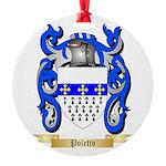 Poletto Round Ornament