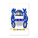 Poletto 35x21 Wall Decal