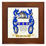 Poletto Framed Tile
