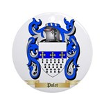 Polet Round Ornament