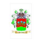 Polaski Sticker (Rectangle 50 pk)