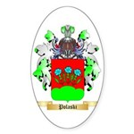 Polaski Sticker (Oval)