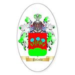 Polaski Sticker (Oval 50 pk)
